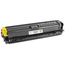 Remanufactured Replacement for HP CE272A (650A) Yellow Laser Toner Cartridge