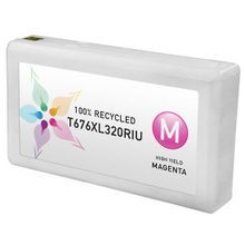 Remanufactured Replacement for Epson T676XL320 (676XL) High Yield Magenta Ink Cartridges