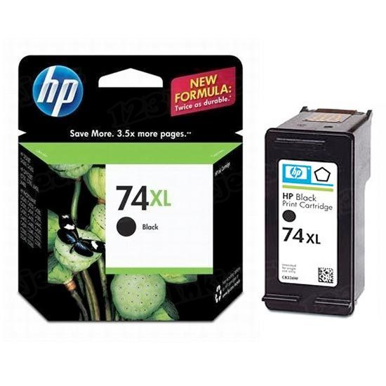 HP 74XL Black Original Ink Cartridge CB336WN