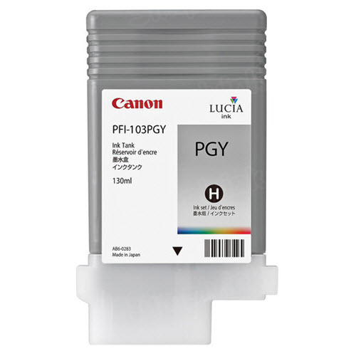 OEM Canon PFI-103PGY Photo Gray Ink
