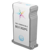 Compatible Canon BCI1302PC Photo Cyan Ink Cartridges for the imagePROGRAF W2200