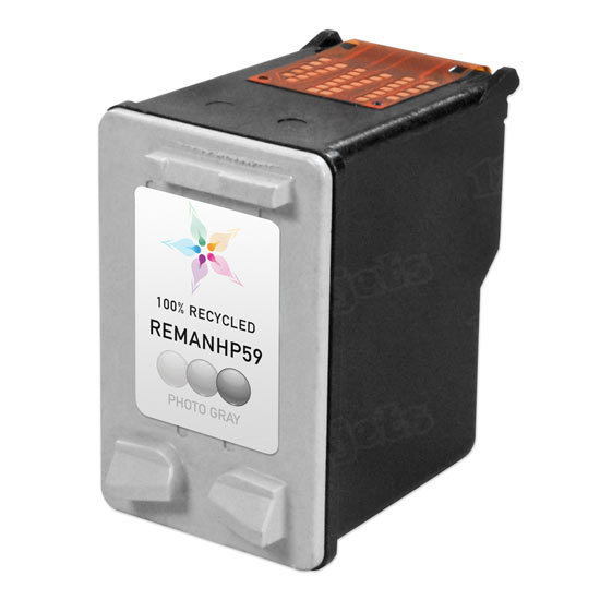 Remanufactured Replacement Photo Gray Ink for HP 59