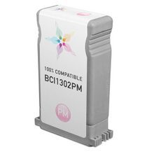 Compatible Canon BCI1302PM Photo Magenta Ink Cartridges for the imagePROGRAF W2200