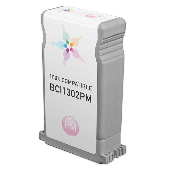 Canon Compatible BCI1302PM Photo Magenta Ink for imagePROGRAF W2200
