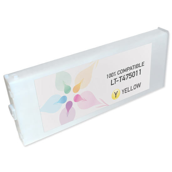 Epson Compatible T475011 Yellow Inkjet Cartridge for the Stylus Pro 7500/9500