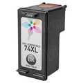 Remanufactured Replacement HY Black Ink for HP 74XL