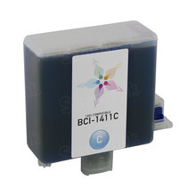 Compatible Canon BCI-1411C Cyan Ink Cartridges for the imagePROGRAF W7200 & W8200