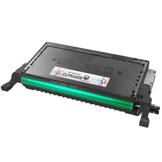 Alternative CLP-K660B Black Toner for Samsung