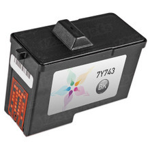 Remanufactured 7Y743 / X0502 (Series 2) Black Ink Cartridge for Dell A940 and A960