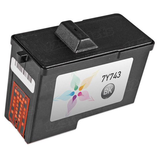 Remanufactured Ink Cartridge for Dell 7Y743 Black Series 2