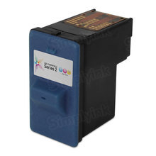 Remanufactured 7Y745 / X0504 (Series 2) Color Ink Cartridge for Dell A940 and A960
