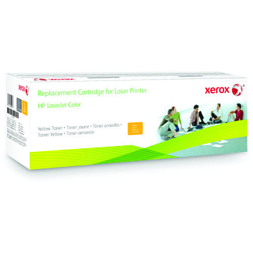 Xerox Remanufactured Yellow Laser Toner for Hewlett Packard CF212A