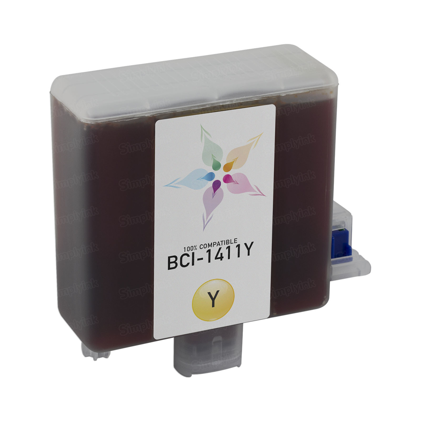 Canon Compatible BCI-1411Y Yellow Ink for imagePROGRAF W7200 & W8200