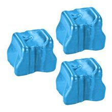 Compatible Xerox Set of 3 Cyan 108R00723 Solid Ink Blocks for the Phaser 8560