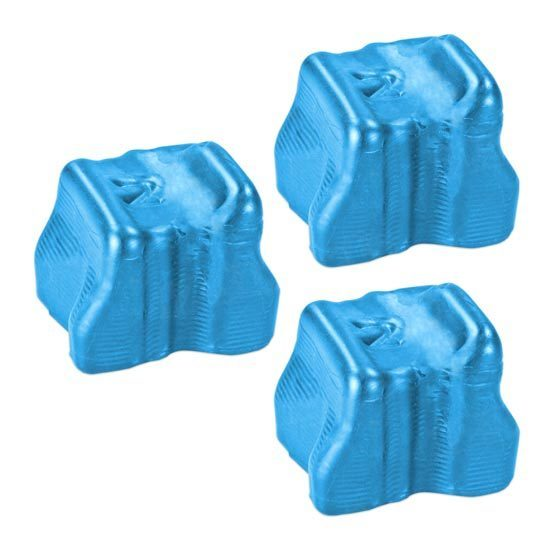 Compatible Xerox 108R00723 Cyan 3-Pack Solid Ink for the Phaser 8560