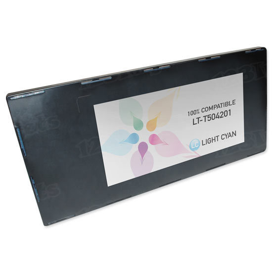 Epson Compatible T504201 Light Cyan Inkjet Cartridge for the Stylus Pro 10000/10600