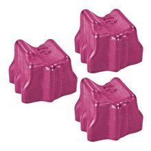 Compatible Xerox Set of 3 Magenta 108R00724 Solid Ink Blocks for the Phaser 8560
