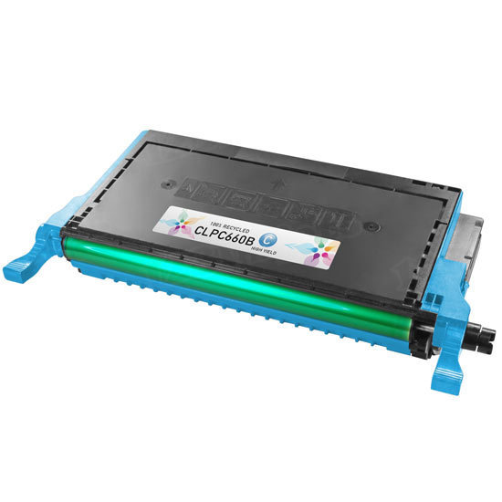 Alternative CLP-C660B Cyan Toner for Samsung