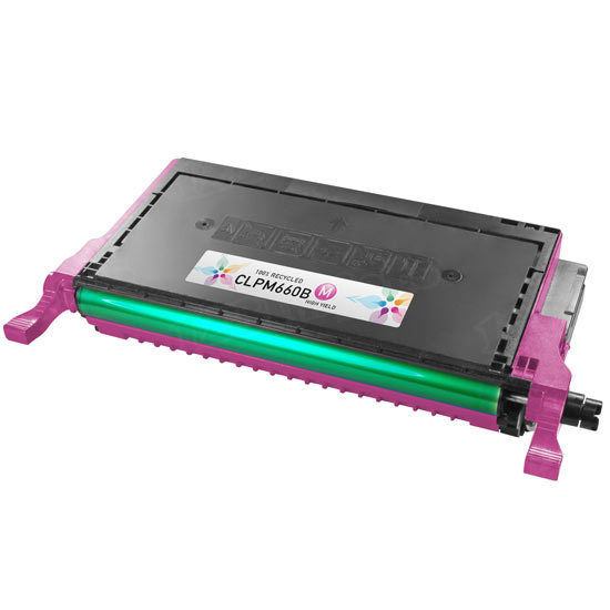 Alternative CLP-M660B Magenta Toner for Samsung