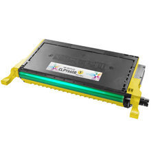 Remanufactured Replacements for Samsung CLP-Y660B High Capacity Yellow Laser Toner Cartridges 5K Page Yield