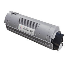 Compatible Okidata 43865720 High Yield Black Laser Toner Cartridges for the Oki C6150, MC560 8K Page Yield