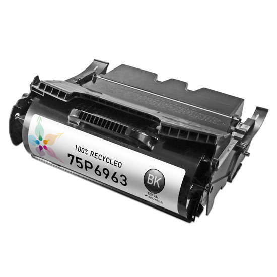 Remanufactured 75P6963 Extra HY Toner Cartridge for IBM
