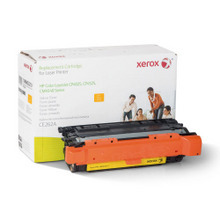 Xerox Premium Remanufactured Replacement Yellow Toner for the HP CE262A (647A) ?�� Made in the U.S.