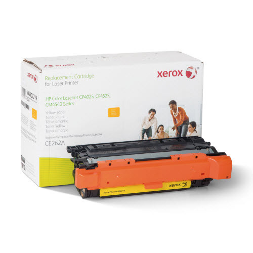 Xerox Remanufactured Yellow Laser Toner for Hewlett Packard CE262A