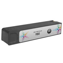 Remanufactured Replacement Ink Cartridge for Hewlett Packard D8J10A (HP 980) Black