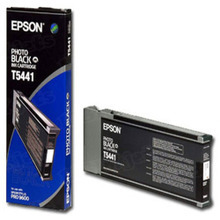 Original Epson T544100 Photo Black 220 ml Inkjet Cartridge (T5441)