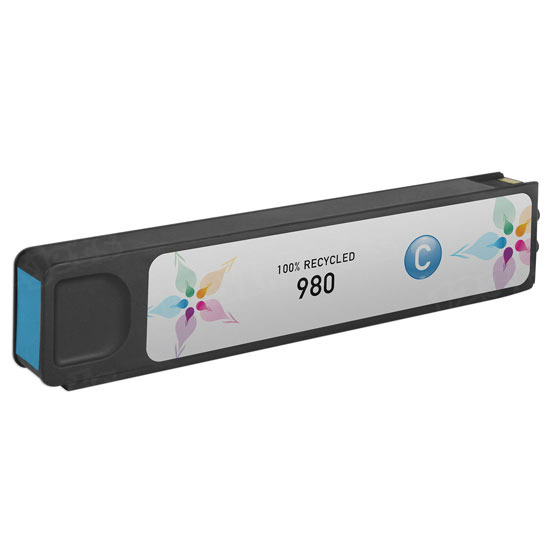 Remanufactured Replacement Cyan Ink for HP 980