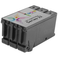 Compatible X738N / T096N (Series 22) High Yield Color Ink Cartridge for Dell V313, V313w and P513w
