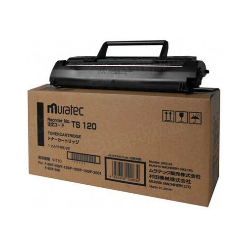 OEM Muratec TS-120 Black Toner Cartridge
