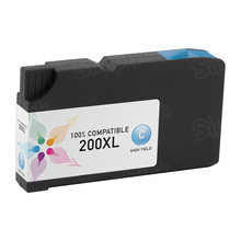 Compatible Lexmark 14L0175 (200XL) High Yield Cyan Ink Cartridges