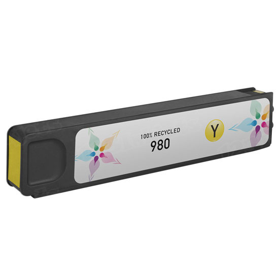 Remanufactured Replacement Yellow Ink for HP 980