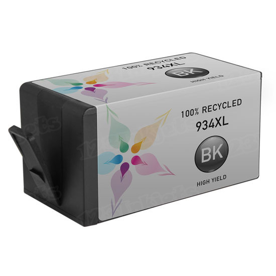 Remanufactured Replacement HY Black Ink for HP 934XL