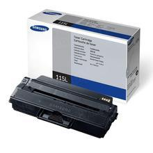 OEM Samsung MLT-D115L Black Laser Toner Cartridges for the SL-M2820DW and SL-M2870FW 3K Page Yield