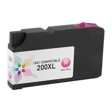 Compatible Lexmark 14L0176 (200XL) High Yield Magenta Ink Cartridges
