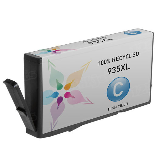 Remanufactured Replacement HY Cyan Ink for HP 935XL