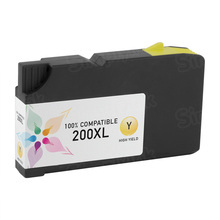 Compatible Lexmark 14L0177 (200XL) High Yield Yellow Ink Cartridges