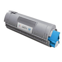 Compatible Okidata 43865719 High Yield Cyan Laser Toner Cartridges for the Oki C6150, MC560 6K Page Yield