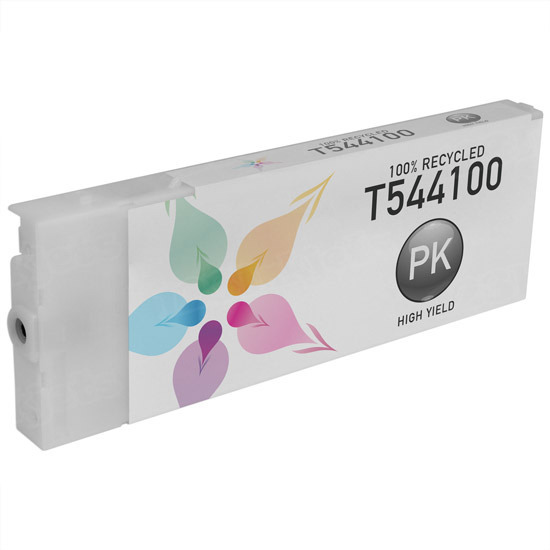 Epson Remanufactured T544100 Photo Black Pigment Inkjet Cartridge