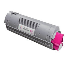 Compatible Okidata 43865718 High Yield Magenta Laser Toner Cartridges for the Oki C6150, MC560 6K Page Yield