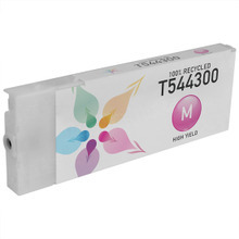 Remanufactured Replacement for Epson T544300 (T5443) High Capacity Pigment Magenta 220ml
