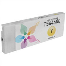 Remanufactured Replacement for Epson T544400 (T5444) High Capacity Pigment Yellow 220ml Ink Cartridge
