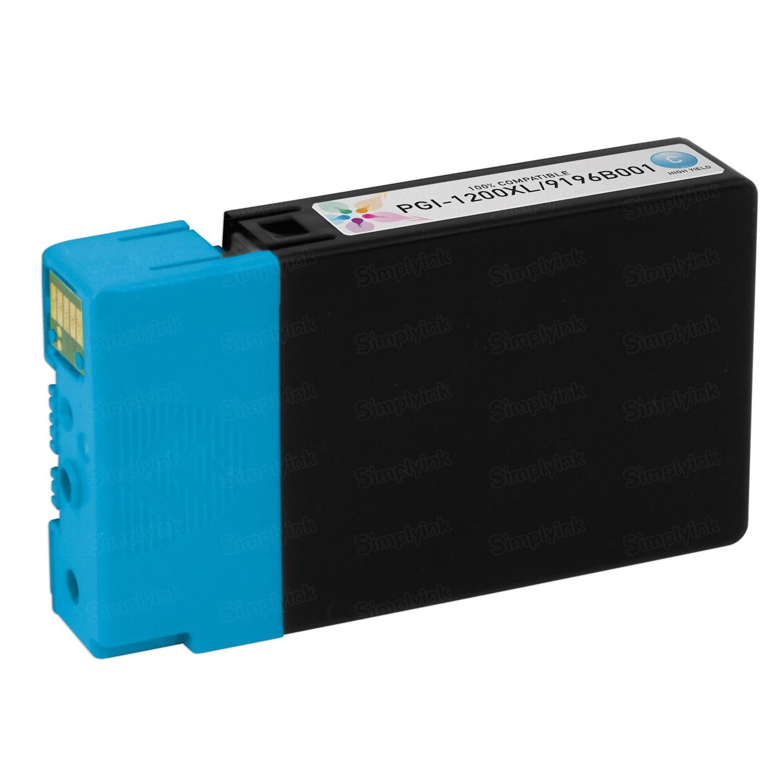 Canon 9196B001 HY Cyan Ink Cartridge, Compatible