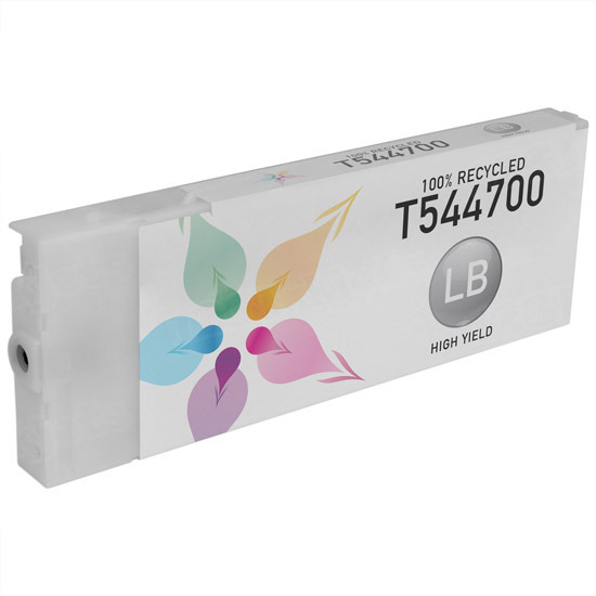 Epson Remanufactured T544700 Light Black Pigment Inkjet Cartridge