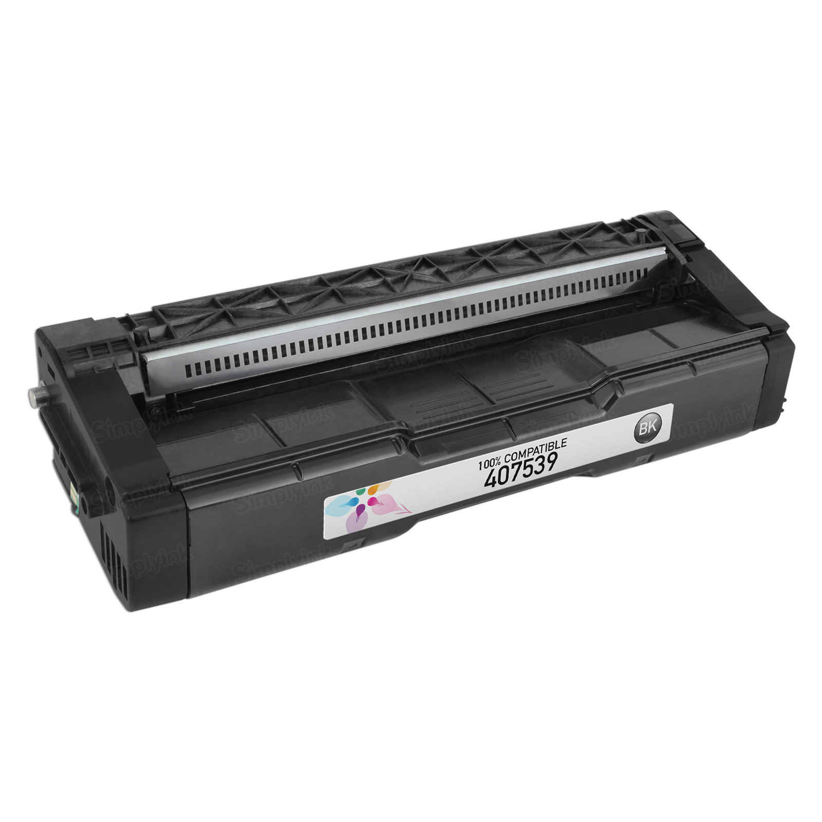 Compatible 407539 Black Toner for Ricoh