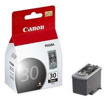 Canon PG-30 Black OEM Ink Cartridge, 1899B002