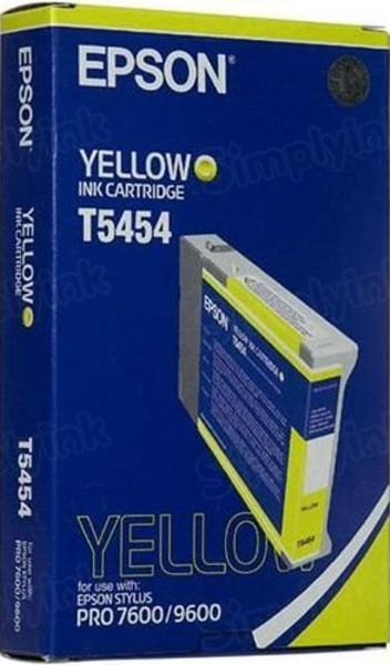 Epson T545400 Yellow OEM Ink Cartridge
